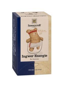 Sonnentor Ingwer Energie Tee, Doppelkammerbeutel 6x32,4g