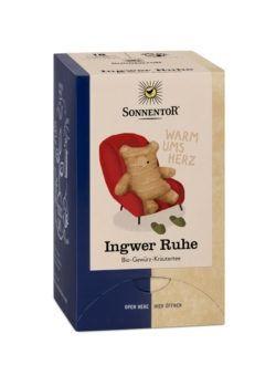 Sonnentor Ingwer Ruhe Tee, Doppelkammerbeutel 6x32,4g