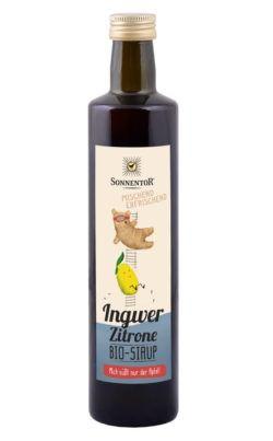 Sonnentor Ingwer-Zitronen Sirup 6x500ml
