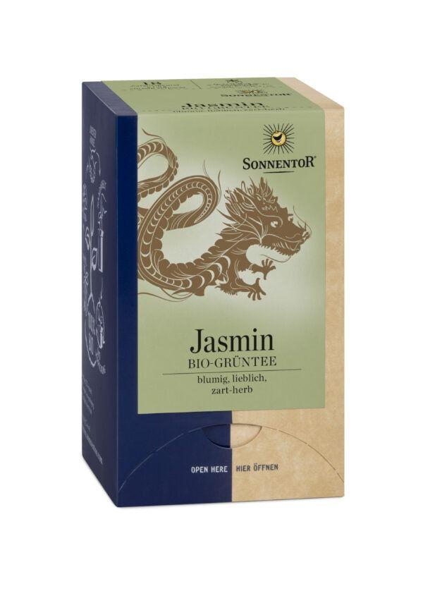 Sonnentor Jasmin Grüntee, Doppelkammerbeutel 6x27g