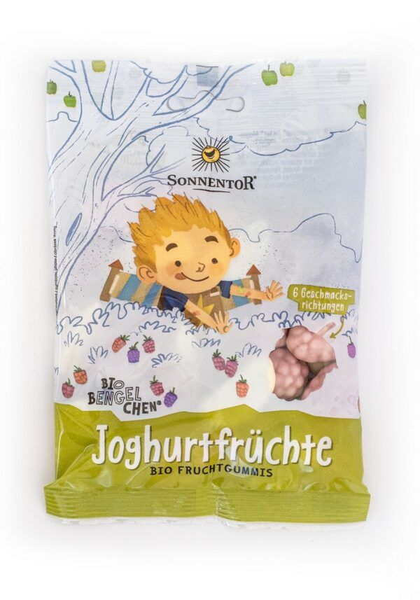 Sonnentor Joghurtfrüchte (vormals Freche Früchtchen) Bio-Bengelchen®, Packung 8x100g