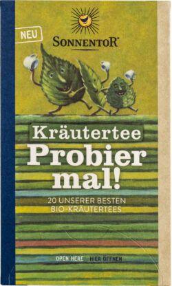 Sonnentor Kräutertee Probier mal!, Doppelkammerbeutel 6x28,5g