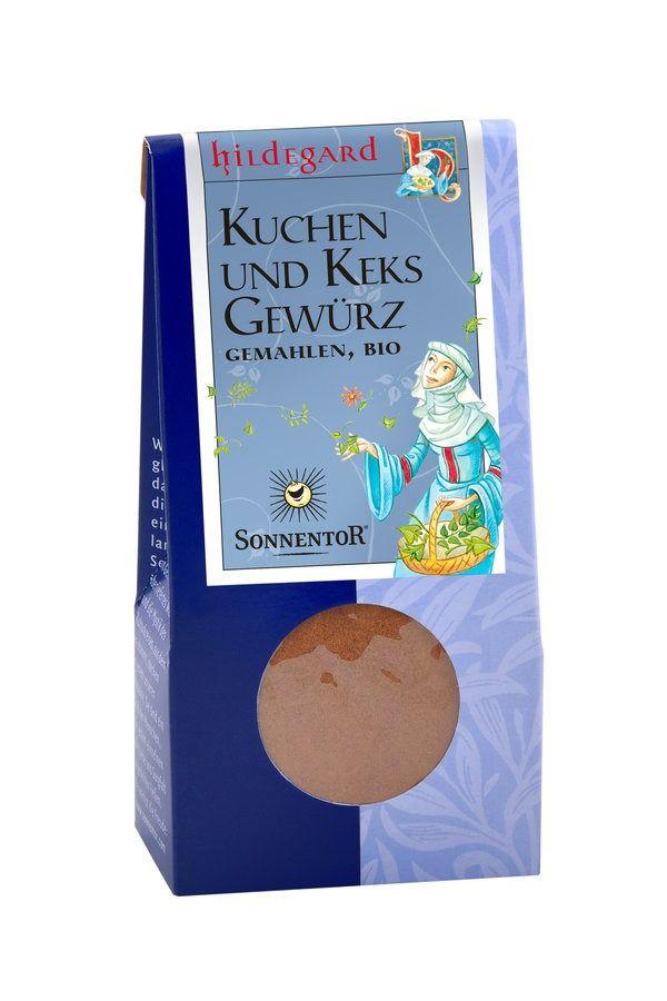 Sonnentor Kuchen- und Keksgewürz gemahlen Hildegard, Packung 6x40g