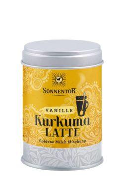 Sonnentor Kurkuma Latte Vanille, Dose 5x60g