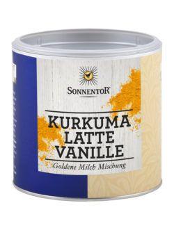 Sonnentor Kurkuma Latte Vanille, Gastrodose klein 230g