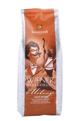 Sonnentor Melange Kaffee ganze Bohne Wiener Verführung®, Packung 500g