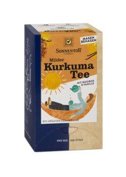 Sonnentor Milder Kurkuma Tee, Doppelkammerbeutel 6x27g