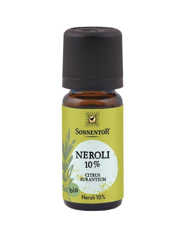 Sonnentor Neroli 10% (in Jojobaöl) ätherisches Öl 10ml