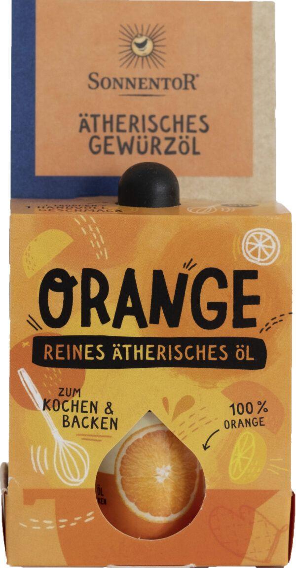 Sonnentor Orange ätherisches Gewürzöl 8x4,5ml