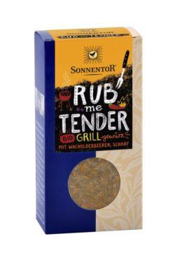 Sonnentor Rub me Tender Grillgewürz, Packung 6x60g