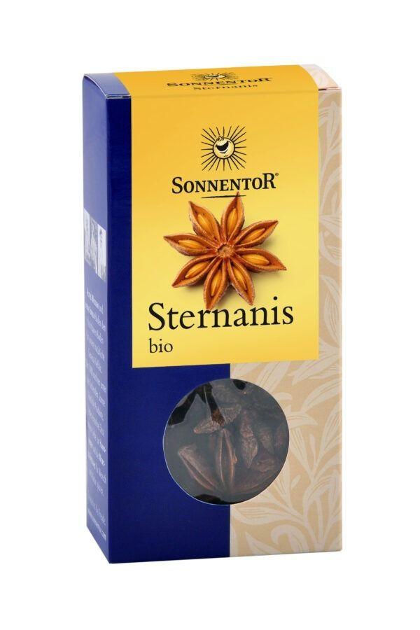 Sonnentor Sternanis ganz, Packung 6x25g