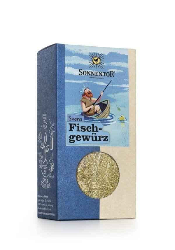 Sonnentor Svens Fischgewürz gemahlen, Packung 6x35g