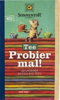 Sonnentor Tee Probier mal!, Doppelkammerbeutel 6x34,4g