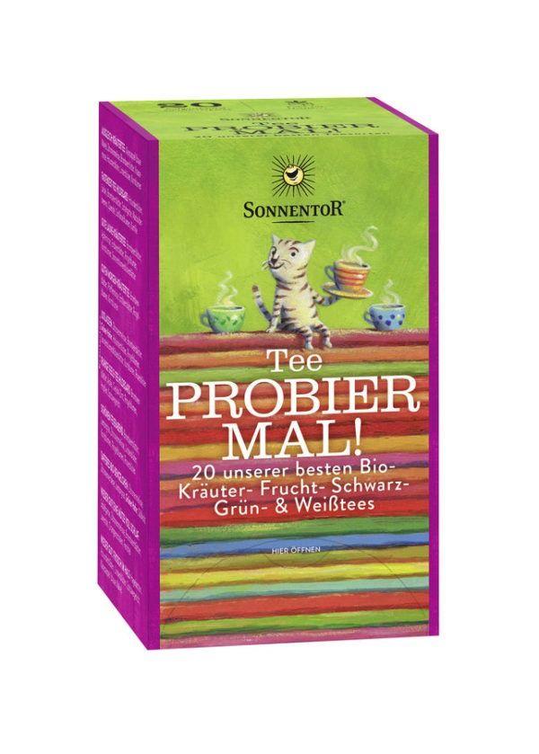 Sonnentor Tee Probier mal!, Beutel 6x31,5g