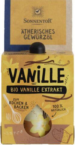 Sonnentor Vanille-Extrakt ätherisches Gewürzöl 8x4,5ml