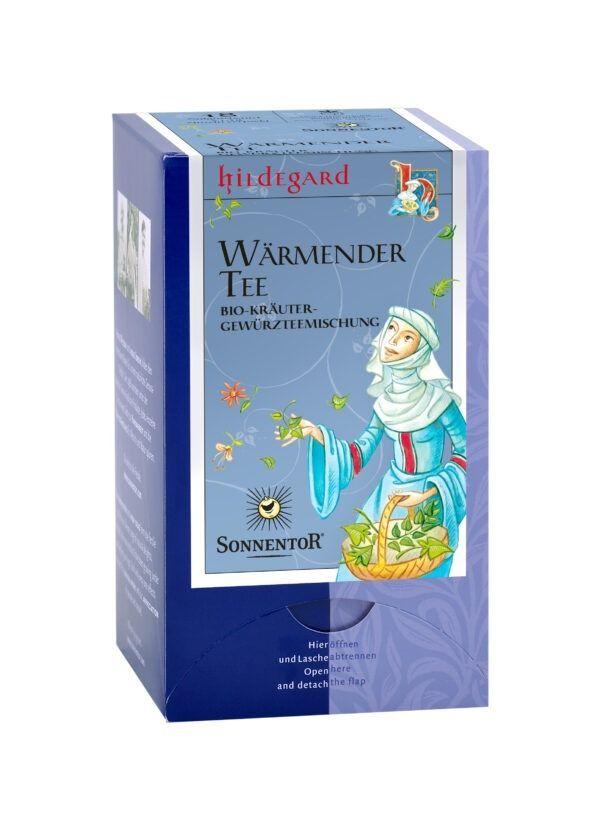 Sonnentor Wärmender Hildegard Tee Hildegard, Doppelkammerbeutel 6x23,4g