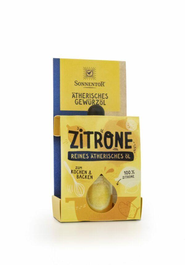 Sonnentor Zitrone ätherisches Gewürzöl 4,5ml