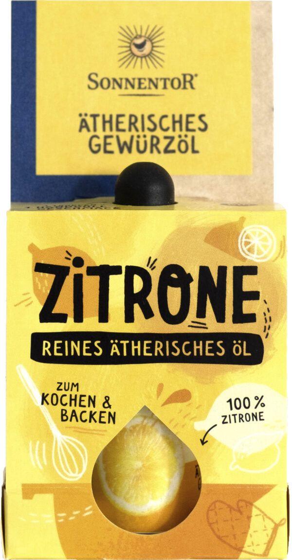 Sonnentor Zitrone ätherisches Gewürzöl 8x4,5ml