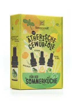 Sonnentor Ätherische Gewürzöle für die Sommerküche (Set) 2x13,5ml