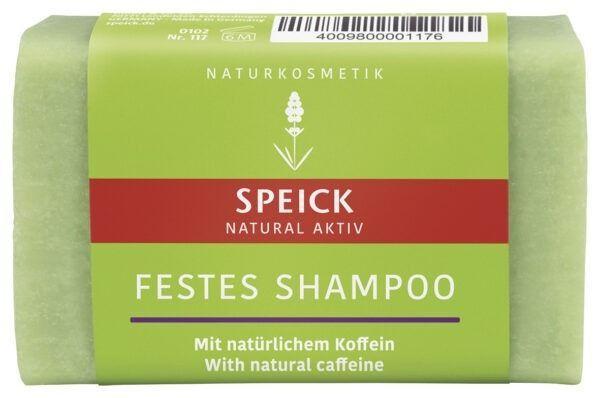 Speick Natural Aktiv Festes Shampoo mit natürlichem Koffein 12x60g