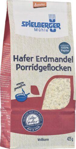 Spielberger Mühle Hafer Erdmandel Porridgeflocken, demeter 6x425g