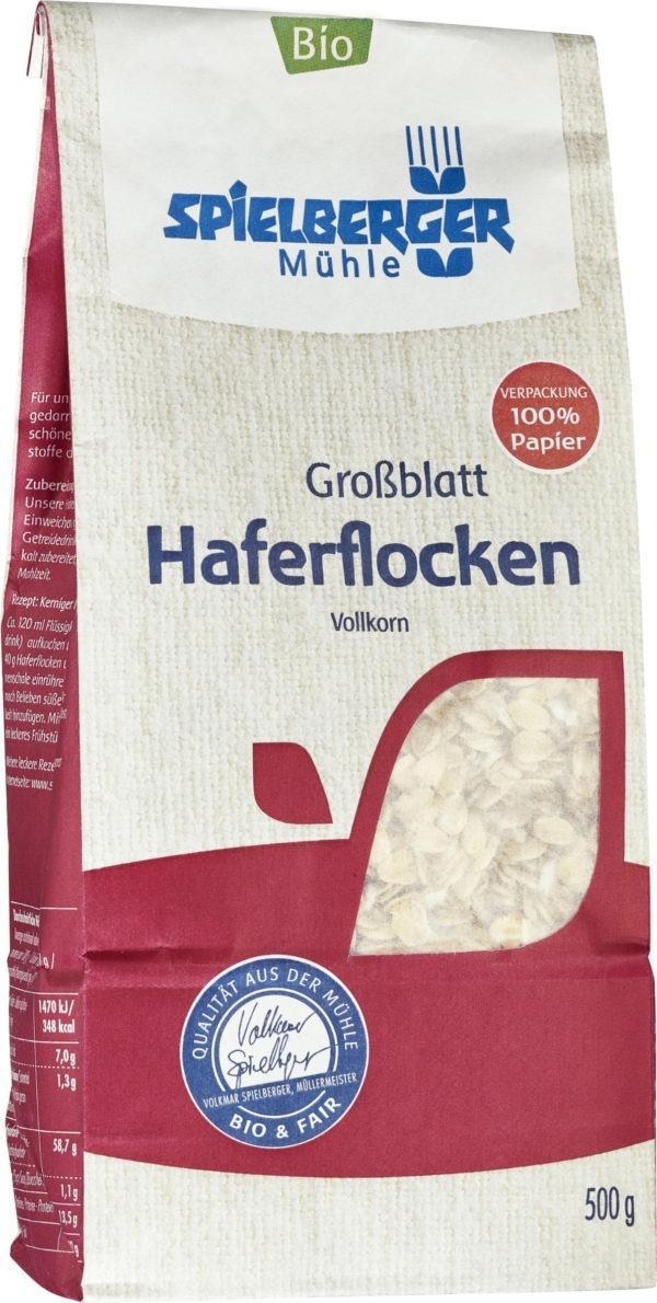 Spielberger Mühle Haferflocken Großblatt, kbA 6x500g