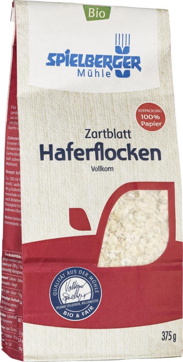 Spielberger Mühle Haferflocken Zartblatt, kbA 6x375g