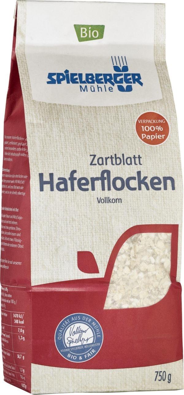 Spielberger Mühle Haferflocken Zartblatt, kbA 6x750g
