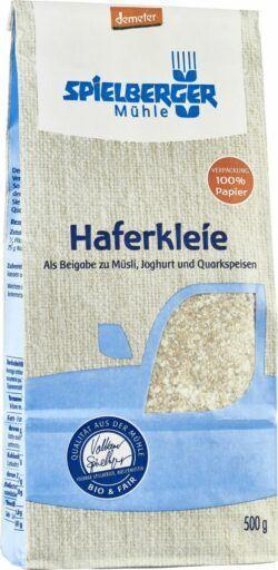 Spielberger Mühle Haferkleie, demeter 6x500g