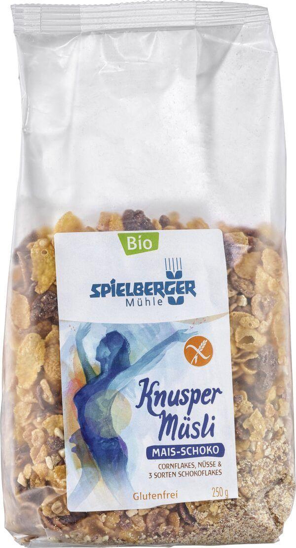 Spielberger Mühle Mais-Schoko-Knusper-Müsli, kbA glutenfrei 6x250g