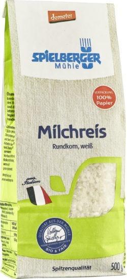 Spielberger Mühle Milchreis, Rundkorn weiß, demeter 4x500g