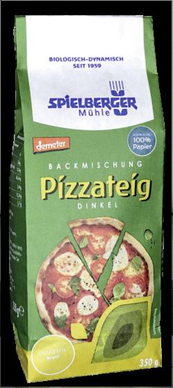Spielberger Mühle Backmischung Dinkel-Pizzateig, demeter 4x350g