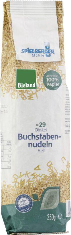 Spielberger Mühle Dinkel-Buchstabennudeln, bioland 15x250g