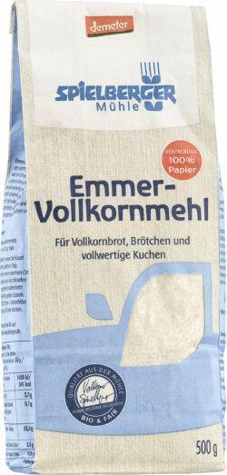 Spielberger Mühle Emmer-Vollkornmehl, demeter 4x500g