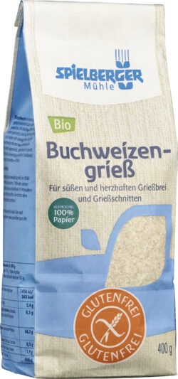 Spielberger Mühle Glutenfreier Buchweizengrieß 4x400g