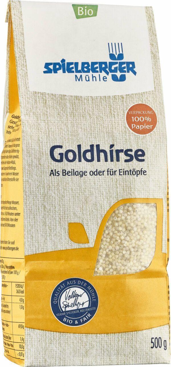 Spielberger Mühle Goldhirse, kbA 4x500g