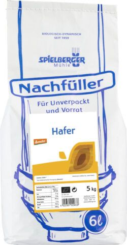 Spielberger Mühle Hafer, geschält, demeter - für Unverpackt-Stationen 5kg