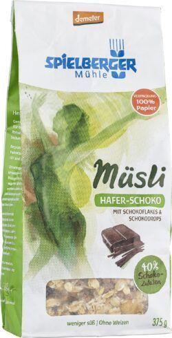 Spielberger Mühle Hafer-Schoko-Müsli, demeter 6x375g