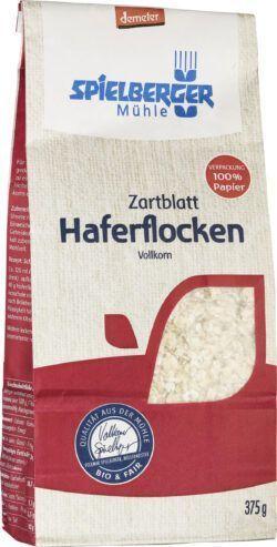 Spielberger Mühle Haferflocken Zartblatt, demeter 6x375g