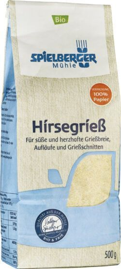 Spielberger Mühle Hirsegrieß 4x500g