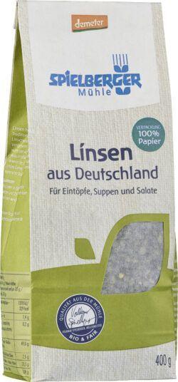 Spielberger Mühle Linsen aus Deutschland, demeter 4x400g