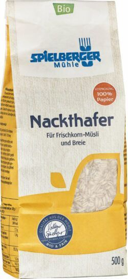 Spielberger Mühle Nackthafer, kbA 4x500g