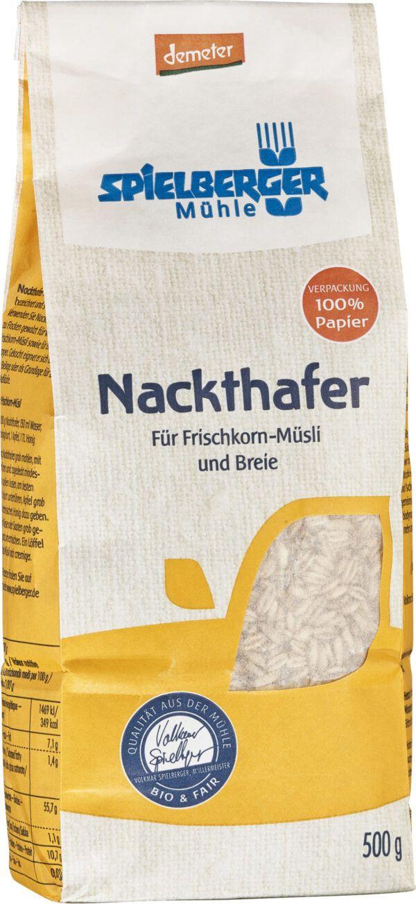 Spielberger Mühle Nackthafer, demeter 500g