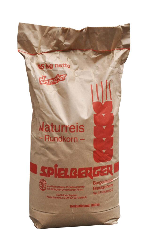 Spielberger Mühle Naturreis-Rundkorn, demeter 25kg