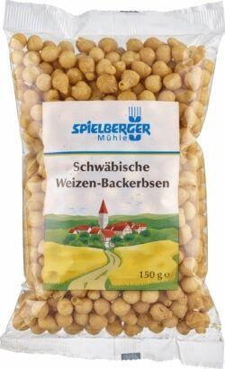 Spielberger Mühle Schwäbische Weizen-Backerbsen, kbA 8x150g