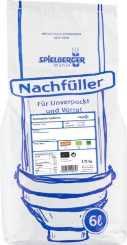 Spielberger Mühle Sonnenblumenkerne, kbA - Nachfüller für Unverpackt und Vorrat 3,75kg
