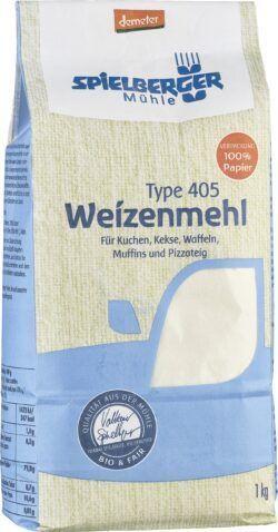 Spielberger Mühle Weizenmehl Type 405 demeter 6x1kg