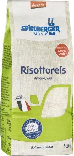 Spielberger Mühle Risottoreis, Arborio, weiß, demeter 4x500g