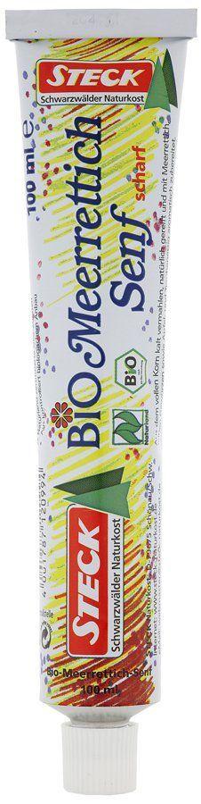 Steck Naturkost Bio Meerrettich-Senf, scharf 15x100ml