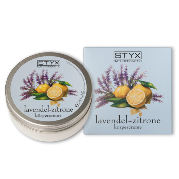 Styx Naturcosmetic Lavendel Zitrone Körpercreme 200ml
